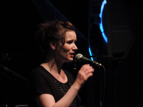 Unsere Sängerin Bea