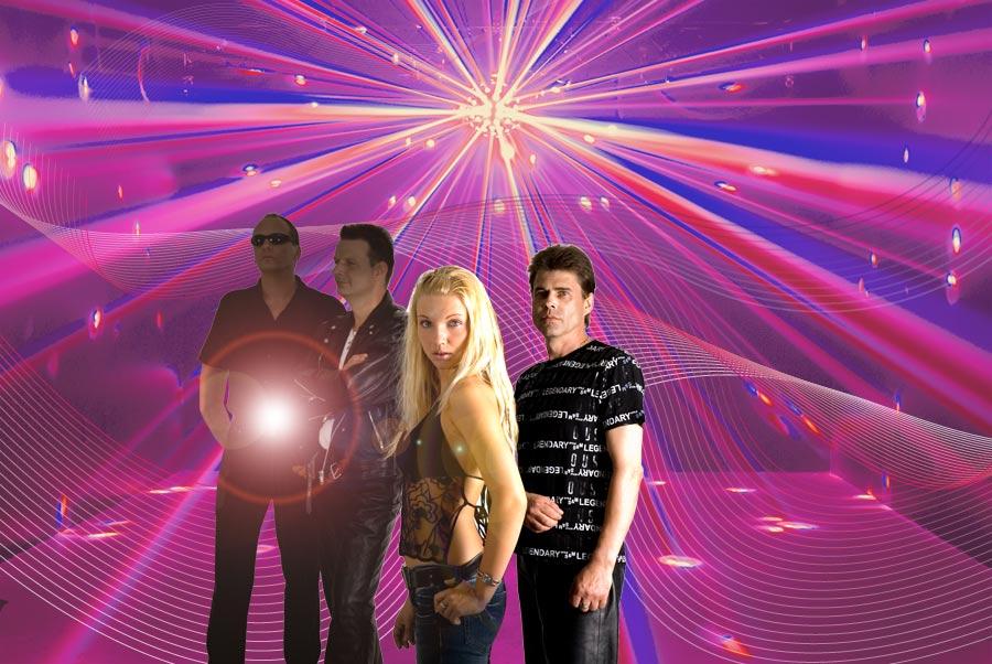 Die Band im Partylight